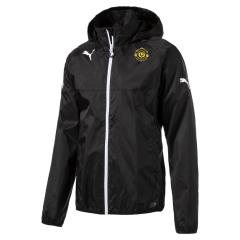 LIGA Rain Jacket-CLUB LOGO - black-white
