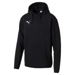 Liga Casual Hoody-CLUB LOGO - black-white