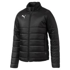 Liga Padded Jacket-CLUB LOGO - Black