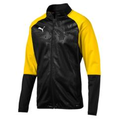 Cup Jacket-with Club Logo - Black-Cyber yellow